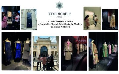 IC FOR MODELS Visite « Gabrielle Chanel, Manifeste de Mode » au Palais Galliera